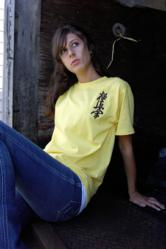 Custom T-Shirt with Kyokushin Kanji