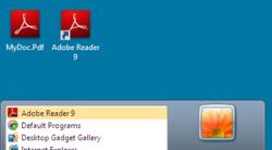 Virtual Adobe Reader