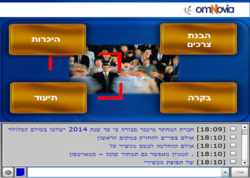 The omNovia Web Conference enables presenters to display Microsoft PowerPoint presentations, use white boards, take polls, share notes in real time and chat in Hebrew. omNovia's comprehensive usage reporting as well as its unique record/replay Recast tech