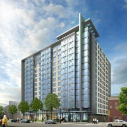 Rendering of the new 440 K Street Apartments