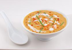 Coconut Sweet Pepper Curry Soup