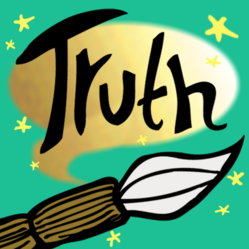A book app for tweens 8-12, Brush of Truth has been recognized for its appeal to reluctant readers.