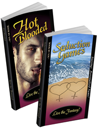 Personalized books - Personalized same-sex romance novels, Hot Blooded and Seduction Games