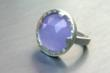 Jewelry by Cari Purple Jade Ring
