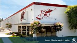 Bridge Publications Inc, publisher of the religious works of Scientology Founder L. Ron Hubbard, opened its new 274,000-square-foot manufacturing facility in Los Angeles in 2009 to meet the overwhelming demand for Mr. Hubbard's books and lectures.