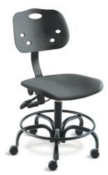 Featuring UV and anti-microbial properties, ergonomic ArmorSeat seating is ideal for laboratories, industrial settings, classrooms and more.