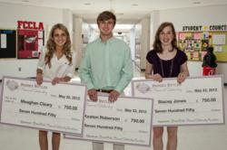 2012 Brooke Butler Memorial Scholarship Foundation recipients