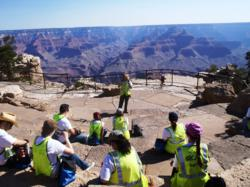 TravCorp at the Grand Canyon