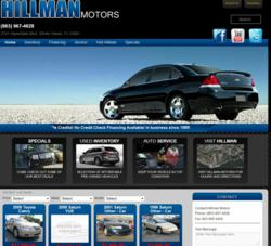Customized Websites for Auto Dealers