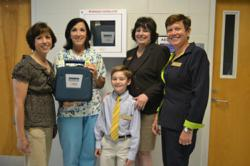 AED.com Donates 2 AEDs to Holy Redeemer Catholic School
