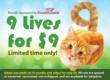 Found Animals Foundation Launches 9 Lives for $9