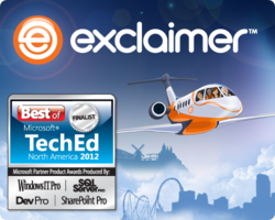 Exclaimer at TechEd North America and Europe in June