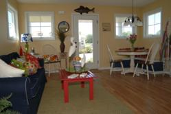 A view of the inside of one of the Cottages at Heron's Landing at Heritage Harbor Ottawa.