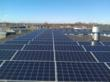 PHOTO CAPTION: Encon recently installed 407 solar panels on its corporate roof in Stratford, Connecticut.