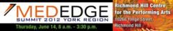 MedEdge 2012 Richmond Hill York Region Ontario