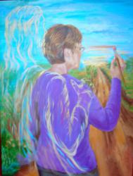 Candis Kloverstrom, Christian Painter, Christian Art, Jesus Painter
