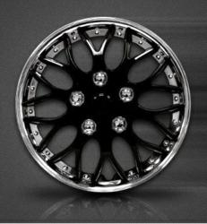Image of Black Hubcaps by mAuto