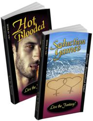 Personalized books - same-sex romance novels Hot Blooded and Seduction Games