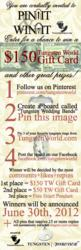 Tungsten World Pin-It To Win-It Pinterest Contest
