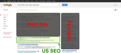 "US SEO SERP Ranking for ""Search Engine Optimization in the United States"" on Google"