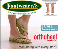 Shop the entire collection of Orthaheel Sandals, Shoes and Orthotics at Footwear etc.