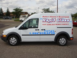 Rapid Glass Mobile Windshield Replacement Vehicle