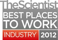 Industrial Best Places to Work 2012 The Scientist Magazine