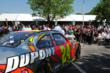 2012 DuPont NASCAR Day celebration - fans enjoyed beautiful weather as they gathered to see Jeff Gordon and the No. 24 DuPont Chevrolet