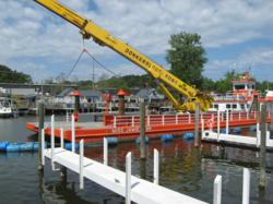 Donkersloot &amp; Sons completes dredging project at Pier 33 in St. Joseph, Michigan.