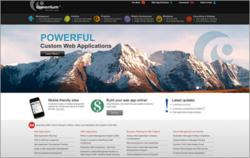 Comentum's newly launched website design.