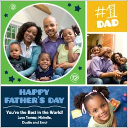 Personalized Father's Day Wrapping Paper from Expressionables
