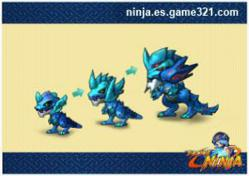 Pockie Ninja - Character Evolution