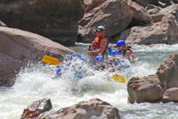 Rafting the Royal Gorge in Canon City, Colorado