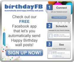 Facebook Birthday Wall Posts
