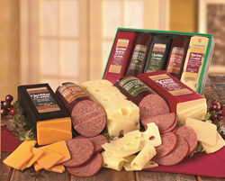 Sausage and cheeses from The Swiss Colony make great gifts.