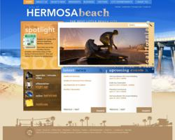 Hermosa Beach website powered by Vision Internet
