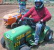 U.S. Lawn Mower Racing Association Rookie of the Year &quot;Deere John&quot; Brewer will race at the STA-BIL Volunteer Spring Nationals.