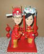 traditional Chinese wedding cake toppers