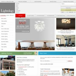 The new website for shopping for lighting online