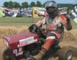U.S. Lawn Mower Racing Association Driver of the Year Wally Bender.