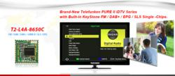 Telefunk PURE II iDTV with KeyStone DAB Single-Chip KSW8650
