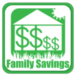 Family Savings Badge