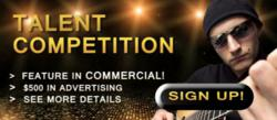 talent contest,auditions,contest marketing,viral marketing,marketing by contest,online talent auditions