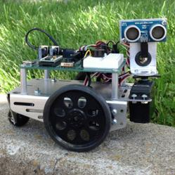 One of Parallax's primary robotics education platforms