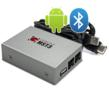 Integration of Android Smartphone, USB stick, Bluetooth, auxiliary to the BMW factory car stereo