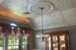 Tin ceilings like this one can be found at www.tinman.com
