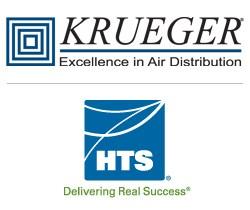 Krueger-HVAC, HTS Texas Logos