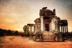 Angkor Wat at Sunset. Fine Art Photography