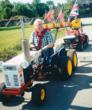 Jim Gavin of the British Lawn Mower Racing Association, and member of the National Lawn Mower Racing Hall of Fame & Museum.