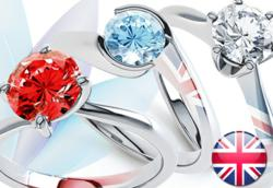 The Red, the White and the Blue high quality diamonds